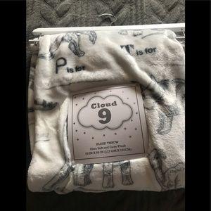 Dinosaur Plush Throw Blanket!!